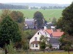 Blick vom Kirchberg zur Alten Schmiede